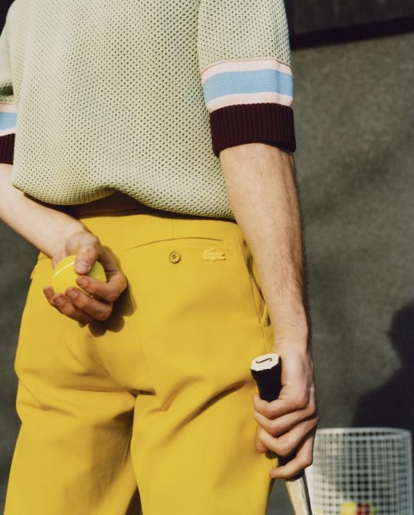Lacoste célèbre l'union entre le sport, le style et l'héritage.